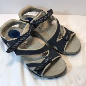 Dr Scholl's Angeles Blue sport  Sandal size 8.5